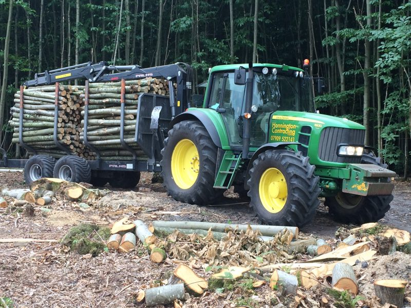 Honnington Machine Hire for Logging