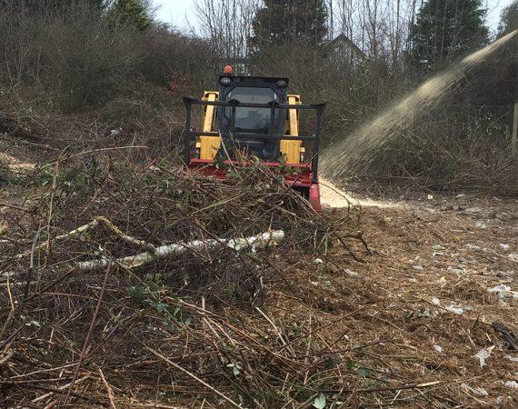 mulching